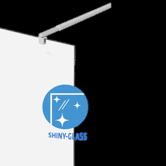 ŚCIANKA PRYSZNICOWA TYPU WALK-IN, 100X190 Z POWŁOKĄ SHINY-GLASS-2