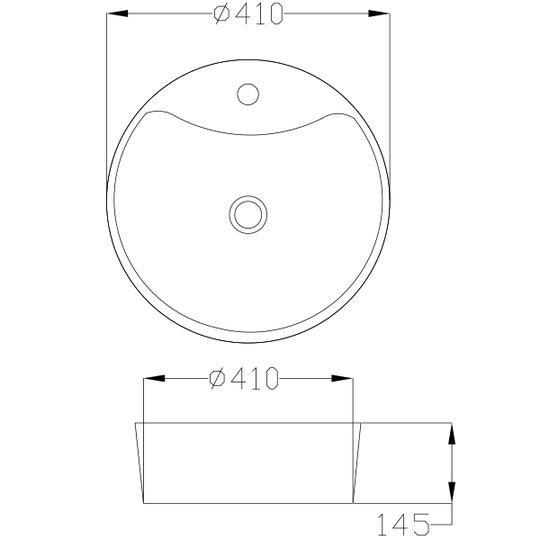 UMYWALKA NABLATOWA RONDI, 41 cm-4