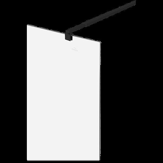 ŚCIANKA PRYSZNICOWA TYPU WALK-IN CZARNY PROFIL, 120x200 CM Z POWŁOKĄ SHINY-GLASS-4