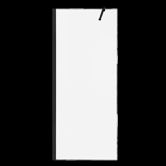 ŚCIANKA PRYSZNICOWA TYPU WALK-IN CZARNY PROFIL, 120x200 CM Z POWŁOKĄ SHINY-GLASS-2